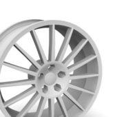 Car Oz Superturismo Wheel