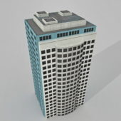 Office High Rise Building Block