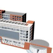 Office Building Complex Architecture