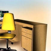 Office Furniture Computer Desk With Chair