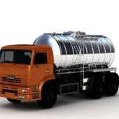 Vehicle Oil Tanker Truck