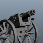 Old Weapon Artillery Cannons