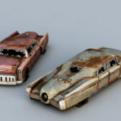 Old Junk Wreck Cars
