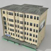 Russian Apartment Complex Building