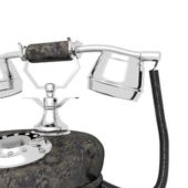Old Vintage Rotary Telephone