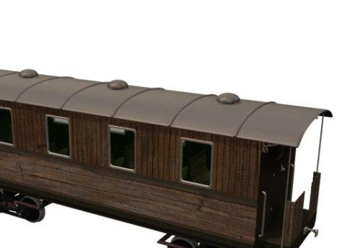 Vehicle Old Rail Passenger Car