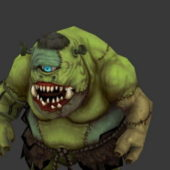 Character One Eyed Monster Cyclops