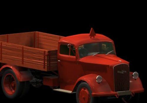 Opel Blitz Truck Vehicle