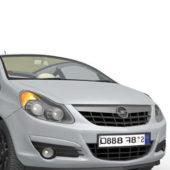 Grey Opel Vauxhall Car