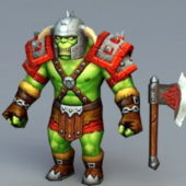 Orc Character Warrior Concept
