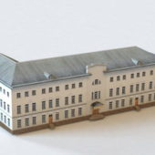 Moscow Building Ostozhenka Template