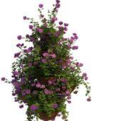 Outdoor Green Flower Pot