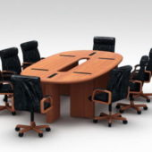 Conference Desk Furniture With Chairs
