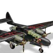 P-61 Black Widow Fighter Aircraft
