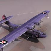 Pby Catalina Flying Boat Plane