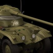 Military Panhard Ebr Armoured Car