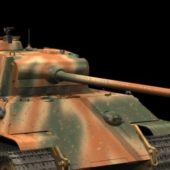 Military Panzer V Ausf G Heavy Tank