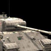 Military Panzer V Panther Medium Tank