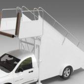 Vehicle Passenger Boarding Stair Truck