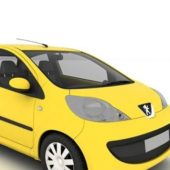 Peugeot 107 Facelift Car