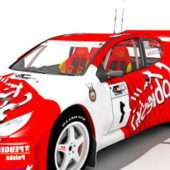 Peugeot 206 Wrc Sport Car