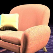 Home Furniture Upholstered Sofa Chair