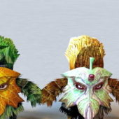 Character Plant Elemental Creatures