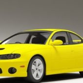 Pontiac Gto Yellow Paint Car