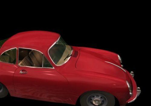 Porsche 356 Coupe Vehicle