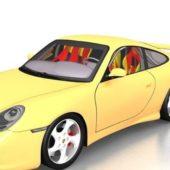 Porsche 993 Gt2 Yellow