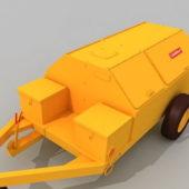 Portable Fuel Cart Vehicle