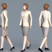 Professional Business Woman Character