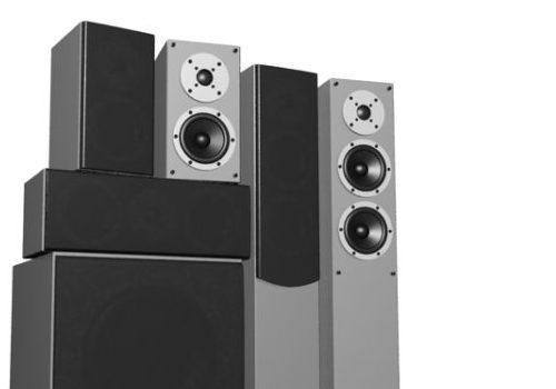 Electronic Dj Speaker System