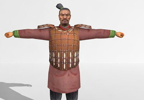 Chinese Qin Dynasty Soldier