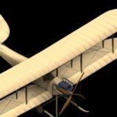 Aircraft Raf B.e.2 Biplane