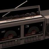 Old Radio Cassette Recorder