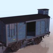 Rustic Railway Boxcar