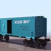 Vintage Railway Wagon Boxcar
