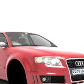 Red Audi S4 Ecar