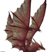 Red Fire Dragon Animal