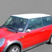 Red Car Mini Cooper