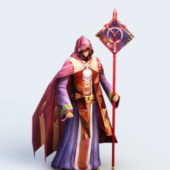 Game Character Sorceress