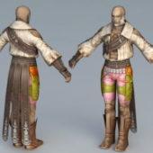 Reddas Warrior Character
