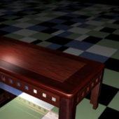 Furniture Redwood Coffee Table