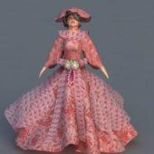Western Renaissance Lady Character