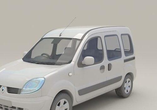 Old Renault Kangoo Mpv Car