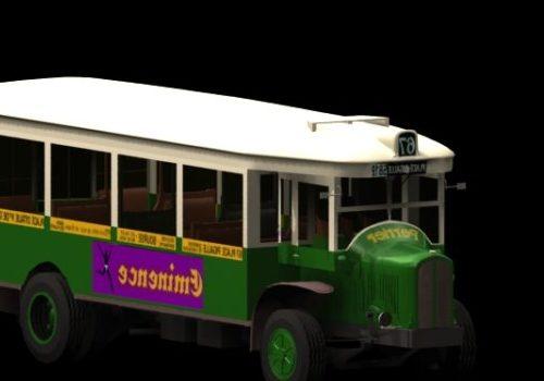 Vehicle Renault Bus