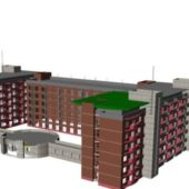 City Residential Areas Buildings
