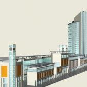 Retail Office Complex Building
