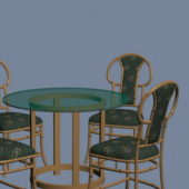 Furniture Retro Dining Sets